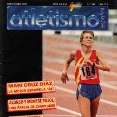 Collectionnisme sportif: REVISTA ATLETISMO ESPAÑOL Nº 388 DICIEMBRE 1987. Lote 26960141
