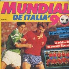 Coleccionismo deportivo: REVISTA ESPECIAL MUNDIAL ITALIA 90. Lote 25765622