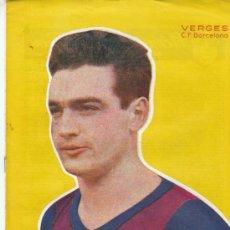 Coleccionismo deportivo: SEMANARIO DEPORTIVO DICEN, VERGES C.F. BARCELONA. Lote 7604279