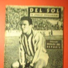 Coleccionismo deportivo: DEL SOL COLECCION IDOLOS DEL DEPORTE N. 27. Lote 17168615