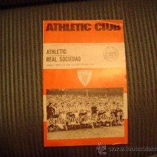 Coleccionismo deportivo: PROGRAMA OFICIAL DE FUTBOL DEL ATHLETIC CLUB 75 ANIVERSARIO. Lote 21525714