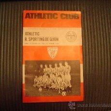 Coleccionismo deportivo: PROGRAMA OFICIAL DE FUTBOL DEL ATHLETIC CLUB 75 ANIVERSARIO. Lote 40179113