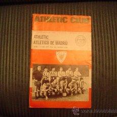 Coleccionismo deportivo: PROGRAMA OFICIAL DE FUTBOL DEL ATHLETIC CLUB 75 ANIVERSARIO. Lote 21543625