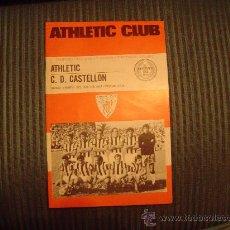 Coleccionismo deportivo: PROGRAMA OFICIAL DE FUTBOL DEL ATHLETIC CLUB 75 ANIVERSARIO. Lote 21543626
