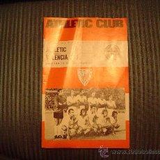 Coleccionismo deportivo: PROGRAMA OFICIAL DE FUTBOL DEL ATHLETIC CLUB 75 ANIVERSARIO. Lote 40179133