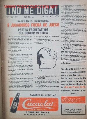 Coleccionismo deportivo: 7 Revistas CLUB DEPORTIVO EUROPA - Temporada 1959-60 - Foto 3 - 26299783