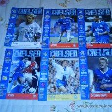 Coleccionismo deportivo: LOTE 6 PROGRAMAS DEL CHELSEA TEMPORADA 03/04. Lote 26905274