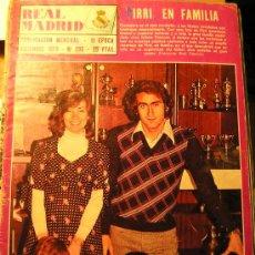 Coleccionismo deportivo: ANTIGUA REVISTA REAL MADRID - PIRRI EN FAMILIA - 1974. Lote 26181677