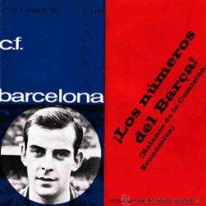 Coleccionismo deportivo: REVISTA C.F.BARCELONA Nº 220 PARTIDO CONTRA EL ATLETICO DE MADRID. Lote 11285481