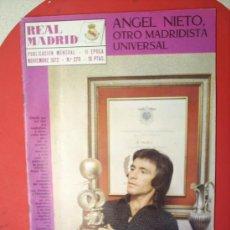 Coleccionismo deportivo: REVISTA -REAL MADRID-N.27-NOVIEMBRE 1972-. Lote 22194902