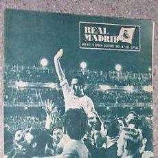 Coleccionismo deportivo: REAL MADRID. 1 REVISTA AÑO 1961. GENTO. L5765. Lote 11856524