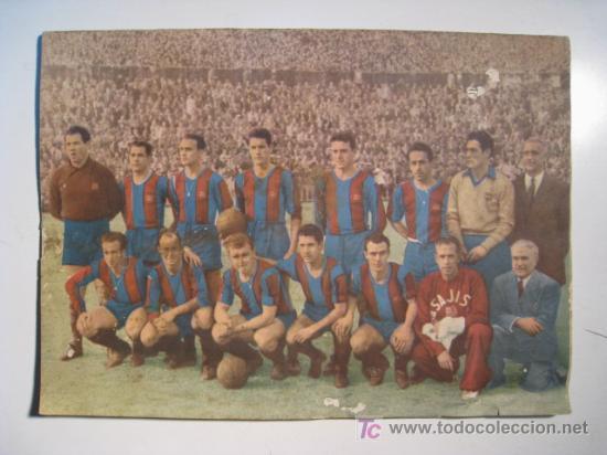 CF FC BARCELONA BARÇA: BOLETIN ESPECIAL PASAPORTE A LA FAMA (CAMPEON LIGA 1952-1953 52-53) (Coleccionismo Deportivo - Revistas y Periódicos - otros Fútbol)