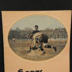 Coleccionismo deportivo: REVISTA SPORTS. AÑO II Nº 23. BARCELONA 11 DE MARZO DE 1924. Lote 24578145