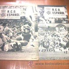 Coleccionismo deportivo: REVISTA GRAFICA. R.C.D. ESPAÑOL. Nº 4 Y 5. 1975. L7430. Lote 13041675