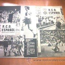 Coleccionismo deportivo: REVISTA GRAFICA. R.C.D. ESPAÑOL. Nº 6 Y 8. 1975. L7428. Lote 13041687