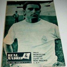 Coleccionismo deportivo: REVISTA DEL REAL MADRID Nº 172 - SEPTIEMBRE 1964 - 32 PAGINAS - MIDE 31 X 22 CMS. EXCELENTE ESTADO D. Lote 24167832