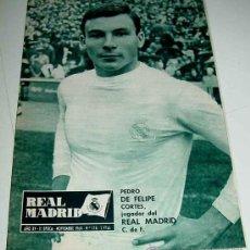 Coleccionismo deportivo: REVISTA DEL REAL MADRID Nº 174 - NOVIEMBRE 1964 - 32 PAGINAS - MIDE 31 X 22 CMS. EXCELENTE ESTADO DE. Lote 13626026