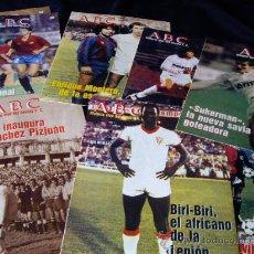 34 FASCICULOS-HISTORIA VIVA DEL SEVILLA FUTBOL CLUB-ABC