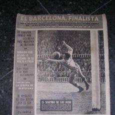 Coleccionismo deportivo: REVISTA OLIMPIA - NUM.39, FC.BARCELONA FINALISTA DE LA COPA DEL REY , FC. BARCELONA 8 - AT.MADRID 1. Lote 13895736