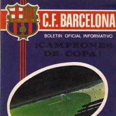 Coleccionismo deportivo - F.C.BARCELONA - Boletin Oficial Informativo - N.º 8 - Julio 1971 - 13926065