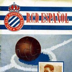 Coleccionismo deportivo: PROGRAMA OFICIAL REAL CLUB DEPORTIVO ESPAÑOL ATLETICO MADRID MAYO 1953. Lote 15448117