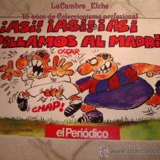 Coleccionismo deportivo: EL PERIODICO DE CATALUNYA, ASI ASI PILLAMOS AL MADRI, BARCELONA REAL MADRID, 1992. Lote 15469663