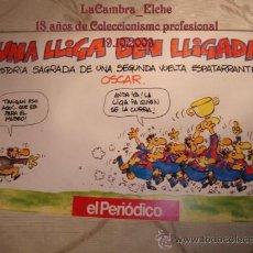 Coleccionismo deportivo: EL PERIODICO DE CATALUNYA, UNA LLIGA BEN LLIGADA, BARCELONA, 1992. Lote 15469798