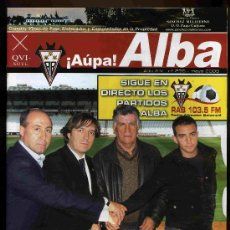 Coleccionismo deportivo: REVISTA AUPA ALBA - ALBACETE BALOMPIÉ - Nº 236 - AÑO 14 - MAYO 2009. Lote 15749261