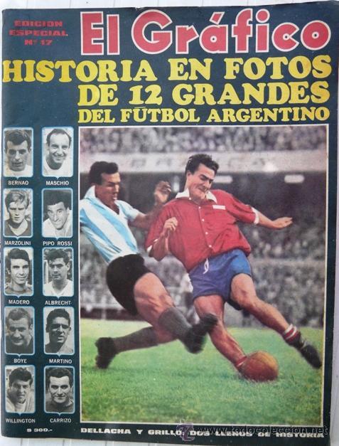 El grafico especial 17 12 grandes del futbo comprar for Revistas del espectaculo argentino