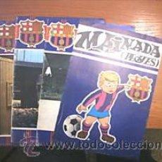 Coleccionismo deportivo: 3 BOLETINES C.F. BARCELONA. + SUPLEMENTO INFANTIL L9108. Lote 16329342