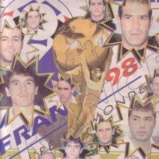 Coleccionismo deportivo: PERIODICO SUPER DEPORTE (SUPLEMENTO MUNDIAL 1998). Lote 16423853