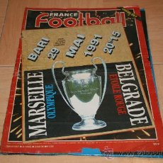 Coleccionismo deportivo: REVISTA FRANCESA FRANCE FOOTBALL 1991. Lote 16435186