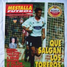 Colecionismo desportivo: PROGRAMA FÚTBOL TEMPORADA 95-96 VALENCIA-ESPAÑOL. Lote 181358581