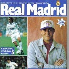 Coleccionismo deportivo: REVISTA REAL MADRID NÚMERO 67, DE 1995. Lote 22608036