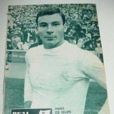 Coleccionismo deportivo: ANTIGUA REVISTA DEL REAL MADRID - FUTBOL - NOVIEMBRE 1964 - Nº 174 - MIDE 31 X 21,5 CMS - DEPORTE, F. Lote 17154079