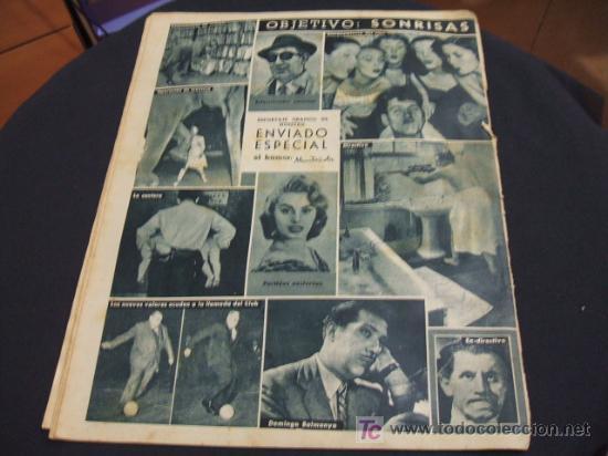 Coleccionismo deportivo: REVISTA BARÇA - 21 JUNIO 1956 - Nº 27 - PORTADA VILLAVERDE, EULOGIO MARTINEZ Y KUBALA - - Foto 5 - 24804293