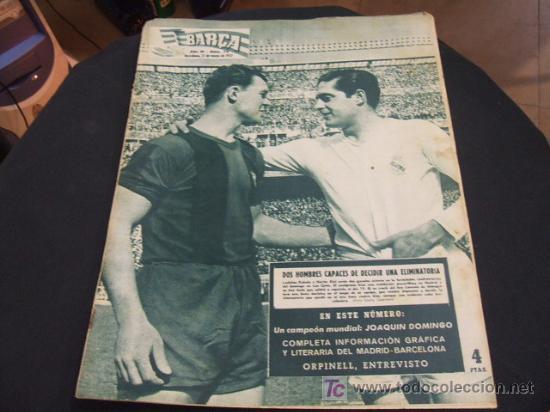 Revista Barça 17 Mayo 1957 Numero 74 Por Comprar Revistas Y