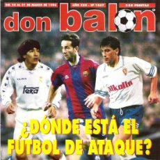 Coleccionismo deportivo: DON ALON Nº 1067 LUIS ARAGONES / FUTBOL DE ATAQUE / LASA / ATLETICO DERBY **. Lote 19153077