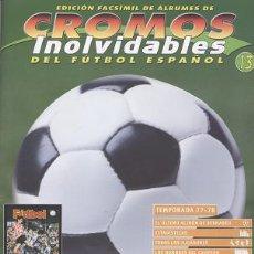 Coleccionismo deportivo: FASCÍCULO DE FÚTBOL RESUMEN TEMPORADA 1977/78 - OFERTAS DOCABO. Lote 19384483