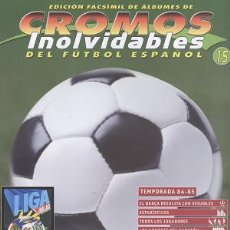 Coleccionismo deportivo: FASCÍCULO DE FÚTBOL RESUMEN TEMPORADA 1984/85. Lote 19384746