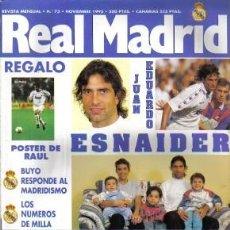 Coleccionismo deportivo: REVISTA REAL MADRID Nº 73, DE 1995. Lote 26140987