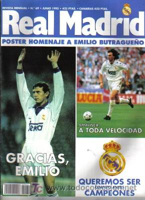 REVISTA REAL MADRID Nº 69, DE 1995 (Coleccionismo Deportivo - Revistas y Periódicos - otros Fútbol)