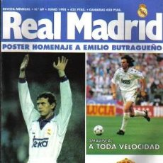 Coleccionismo deportivo: REVISTA REAL MADRID Nº 69, DE 1995. Lote 26140988