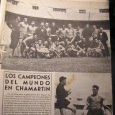 Coleccionismo deportivo: REVISTA REAL MADRID NUMERO 47 JUNIO 1954 LOS CAMPEONES DEL MUNDO. Lote 27229736