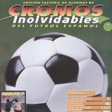 Coleccionismo deportivo: FASCÍCULO DE FÚTBOL RESUMEN TEMPORADA 1972/73 - OFERTAS DOCABO. Lote 19913339