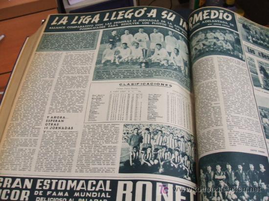 Coleccionismo deportivo: REVISTA BARÇA - 53 REVISTAS ENCUADERNADAS - NUMEROS 265 AL 317 - AÑO 1961 - F.C. BARCELONA - - Foto 14 - 27210258