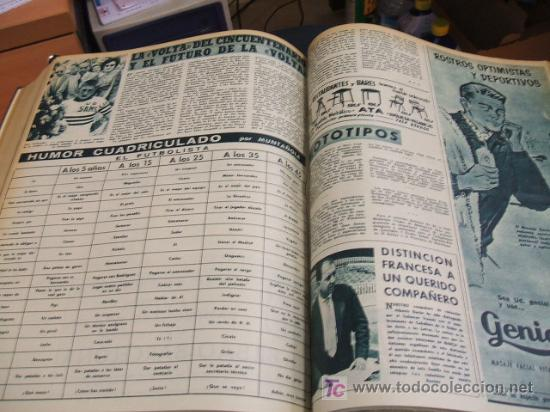 Coleccionismo deportivo: REVISTA BARÇA - 53 REVISTAS ENCUADERNADAS - NUMEROS 265 AL 317 - AÑO 1961 - F.C. BARCELONA - - Foto 4 - 27210258