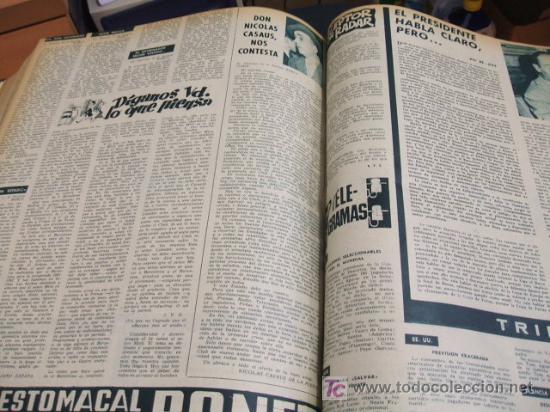Coleccionismo deportivo: REVISTA BARÇA - 53 REVISTAS ENCUADERNADAS - NUMEROS 265 AL 317 - AÑO 1961 - F.C. BARCELONA - - Foto 7 - 27210258