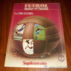 Coleccionismo deportivo: FASCICULO 2 HISTORIA DEL MUNDIAL 1930-1990 . POSTER BRASIL 90 - FIGURA R.SOSA. Lote 25323468