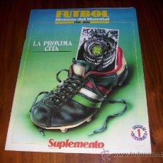 Coleccionismo deportivo: FASCICULO 1 HISTORIA DEL MUNDIAL 1930-1990 . POSTER ITALIA 90- FIGURA BARESI. Lote 25323469